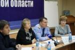 Благотворительный фонд « Семьи- детям», который помогает восстановить права сиротам, 29 октября принял участие в круглом столе Общественной Палаты Иркутской области.