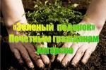 «Зелёный подарок» почётным гражданам